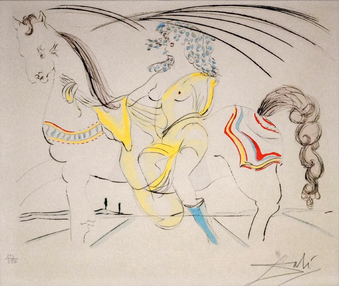 SALVADOR DALI (SPAIN/FRENCH 1904-1989), ENGRAVING WITH