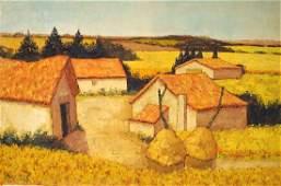 J.R. GREGOIRE (EUROPEAN SCHOOL 20TH CENTURY), OIL ON