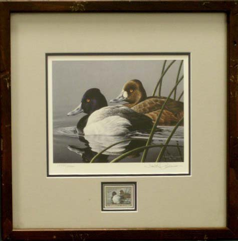 24: 1989-90 FEDERAL DUCK STAMP/PRINT, SIGN ANDERSON