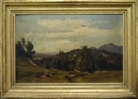 LUDWIG GEORG EDUARD HOLAUSKA (GERMAN 1827-1882), OIL ON