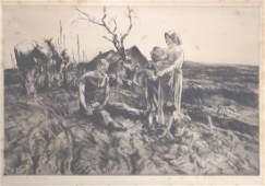 JOHN E. COSTIGAN (AMERICAN 1888-1972), ETCHING,