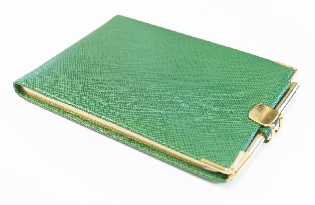 TIFFANY & CO. LEATHER ADDRESS BOOK WITH MECHANICAL