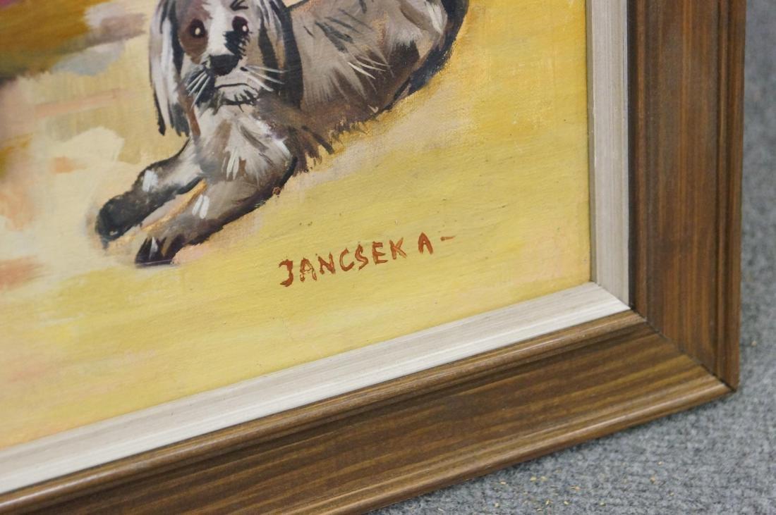 ANTAL JANCSEK (HUNGARIAN 1907-1985), OIL ON CANVAS, - 2
