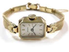 Vintage Rolex 14k Yellow Gold, 17-jewel Mechanical