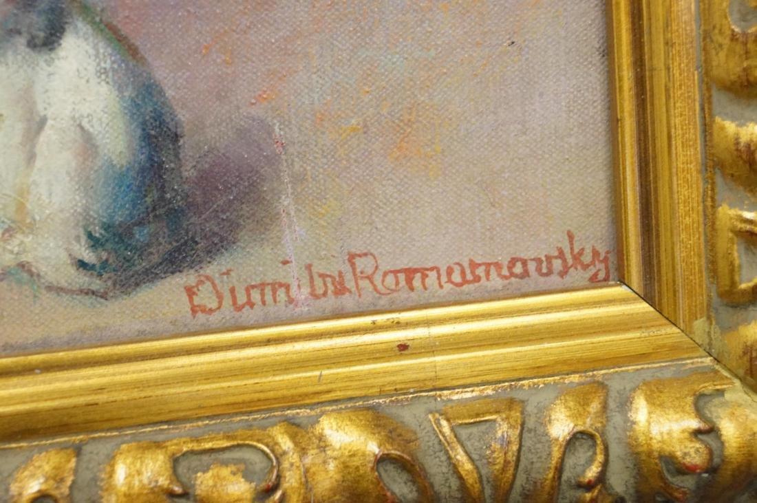 DIMITRI ROMANOVSKI (RUSSIAN/AMERICAN 1887-1971), OIL ON - 2