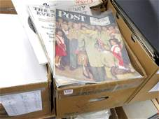 LARGE LOT (79) INCLUDING (20) SATURDAY EVENING POST