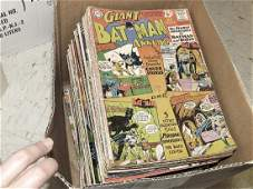LOT APPROXIMATELY (97) VINTAGE COMIC BOOKS INCLUDING