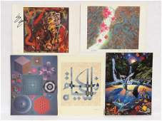 LOT 5 WORLD FEDERATION OF UNITED NATIONS PRINTS ALL