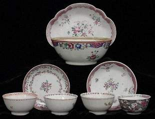 LOT (8) CHINESE EXPORT PORCELAINS