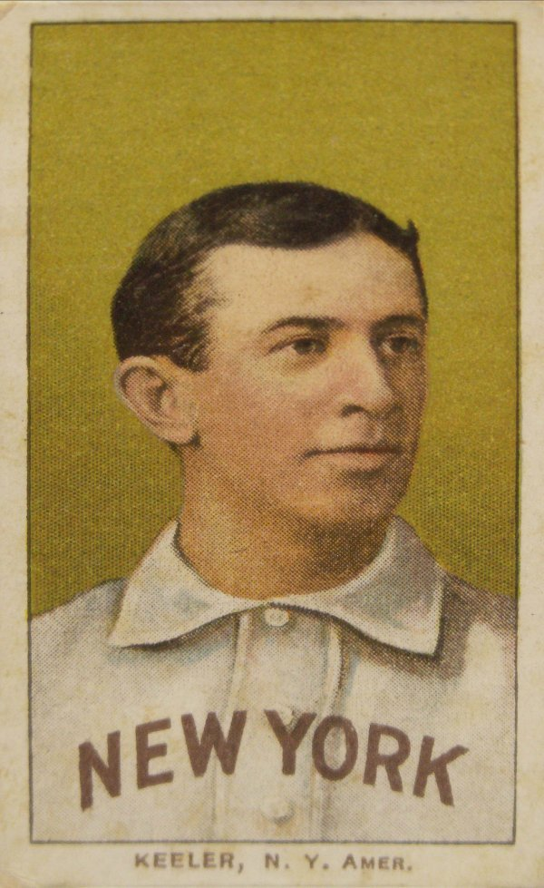 1002: 1909 T206 WILLIE KEELER (PORTRAIT), NY AMERICANS