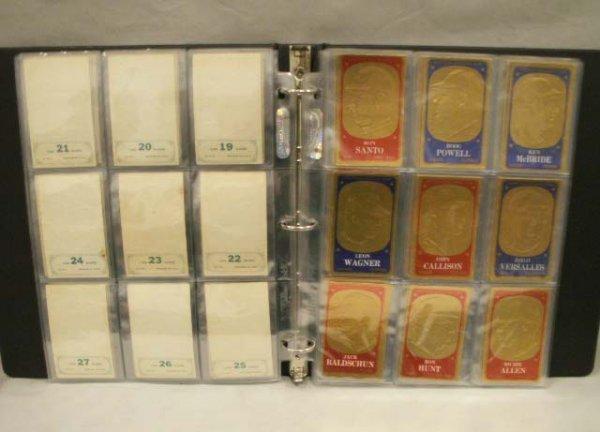 1006: SET (70) 1965 TOPPS GILT/EMBOSSED ALL-STAR CARDS