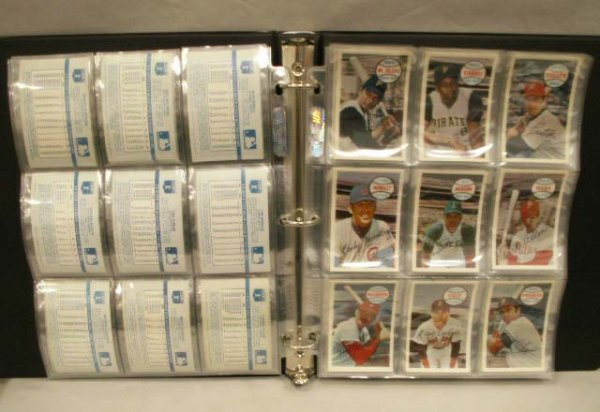 1011: SET KELLOGG'S XOGRAPH BASEBALL CARDS