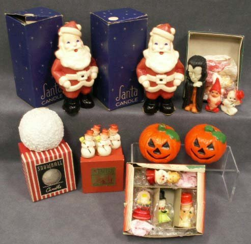 1019: VINTAGE HOLIDAY CANDLES INC. HALLOWEEN