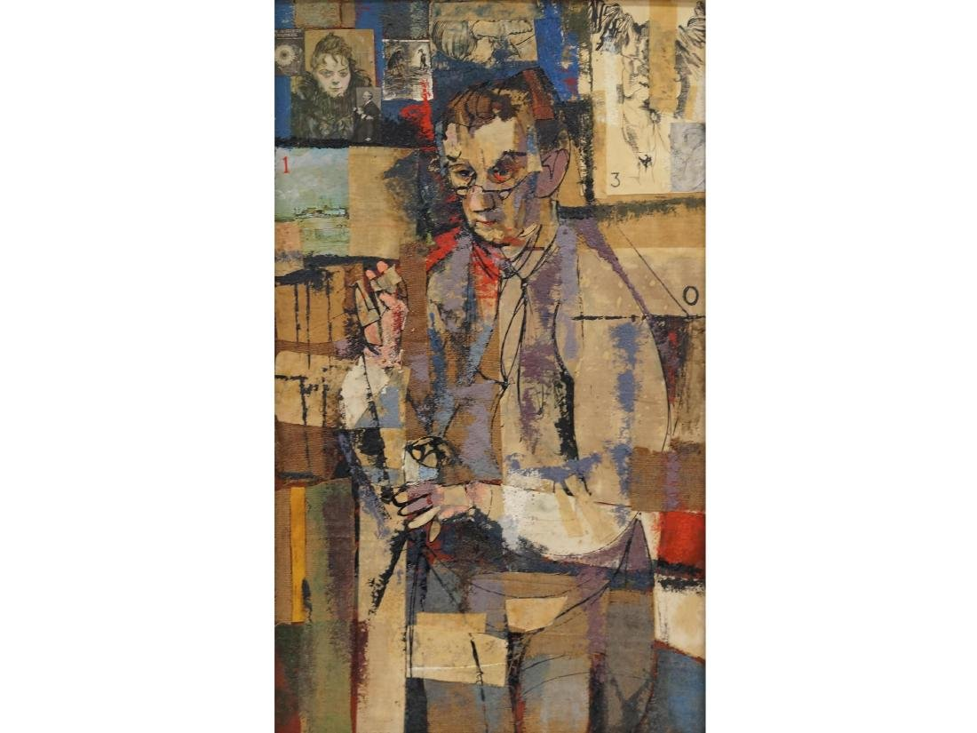 WILLIAM ASHBY MCCLOY (AMERICAN 1913-2001), MIXED MEDIA
