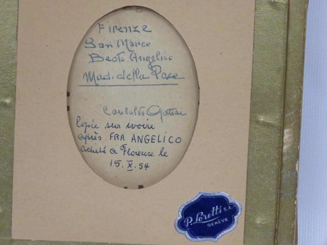 ITALIAN SCHOOL (20TH CENTURY), MINIATURE PORTRAIT OF - 4