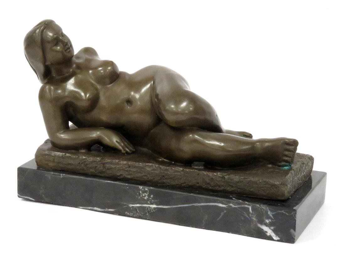 SIGNED BOTERO (COLUMBIAN SCHOOL 20TH CENTURY), BRONZE,