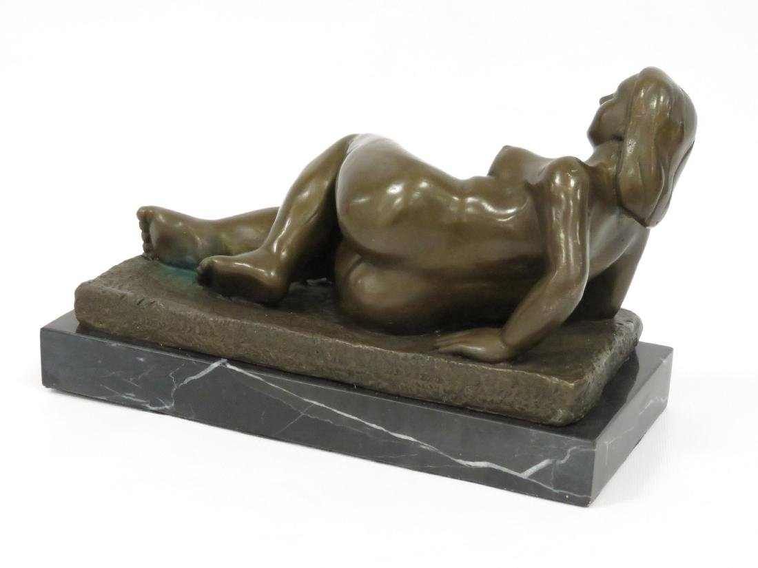 SIGNED BOTERO (COLUMBIAN SCHOOL 20TH CENTURY), BRONZE, - 3