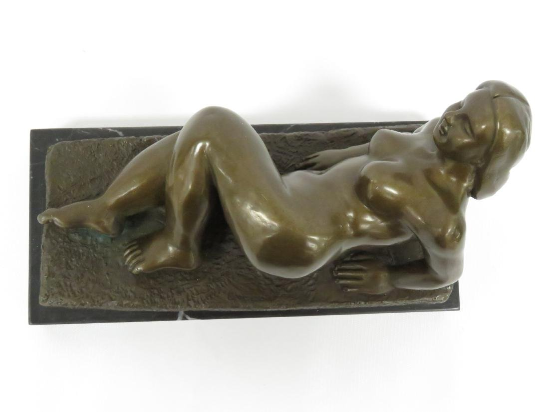 SIGNED BOTERO (COLUMBIAN SCHOOL 20TH CENTURY), BRONZE, - 5