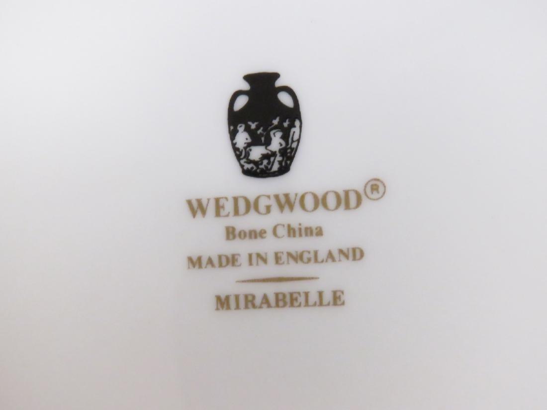 "WEDGWOOD ""MIRABELLE"" PATTERN PORCELAIN SERVICE FOR (8) - 3"