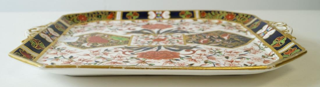 "ROYAL CROWN DERBY ""IMARI"" PATTERN PORCELAIN TRAY, - 2"