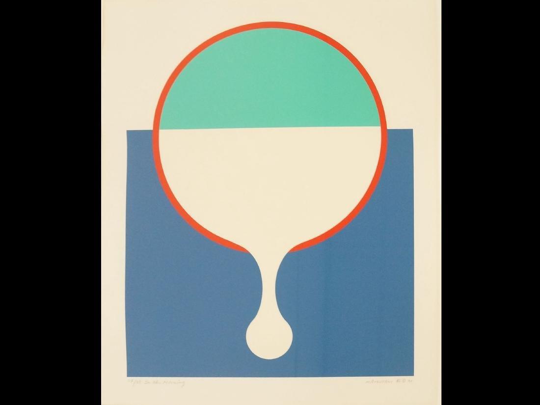 """TAKESADA MATSUTANI (JAPAN 1937-), SERIGRAPH, """"IN THE"""