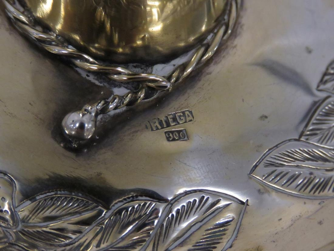 """MEXICAN STERLING SOMBRERO. DIAMETER 4 1/2""""; 2.26 OZT - 2"""