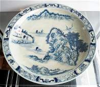 CHINESE DECORATED PORCELAIN CHARGER, BEARING K'ANG HSI