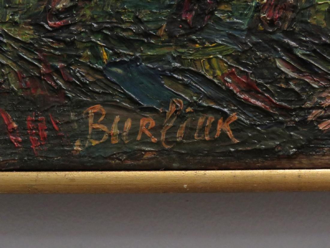 DAVID BURLIUK (RUSSIAN/ UKRAINE/AMERICAN 1882-1967) OIL - 2