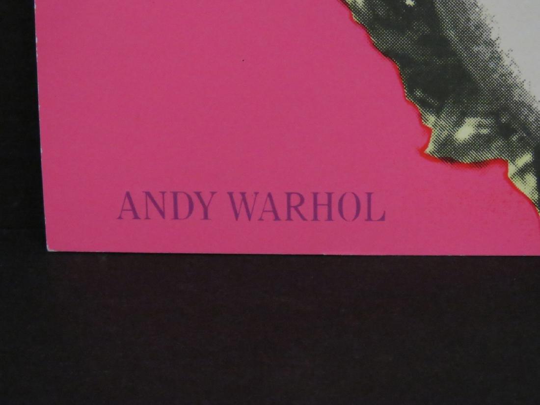 ANDY WARHOL, MARILYN (CASTELLI MAILER), OFFSET - 3