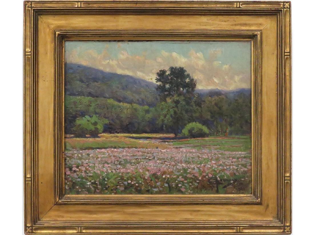 EDWARD BROWASKI (AMERICAN 1865-1939), OIL ON ARTIST