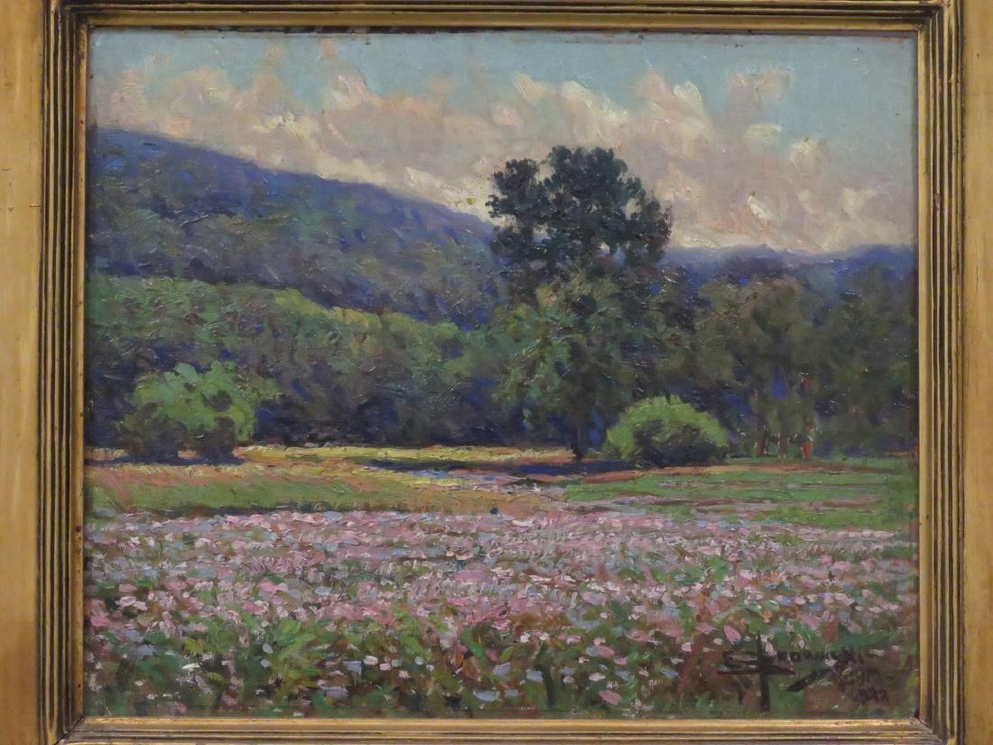EDWARD BROWASKI (AMERICAN 1865-1939), OIL ON ARTIST - 2