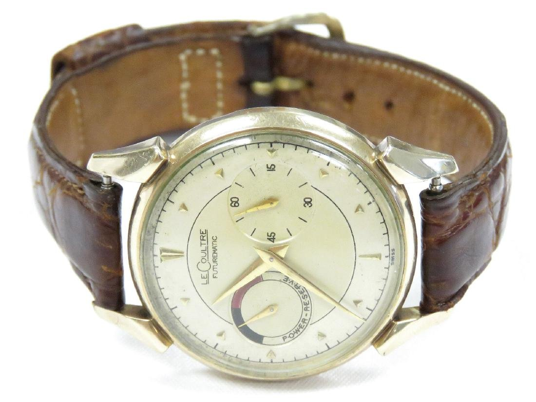 VINTAGE LE COULTRE 10K GOLD FILLED 17-JEWEL AUTOMATIC