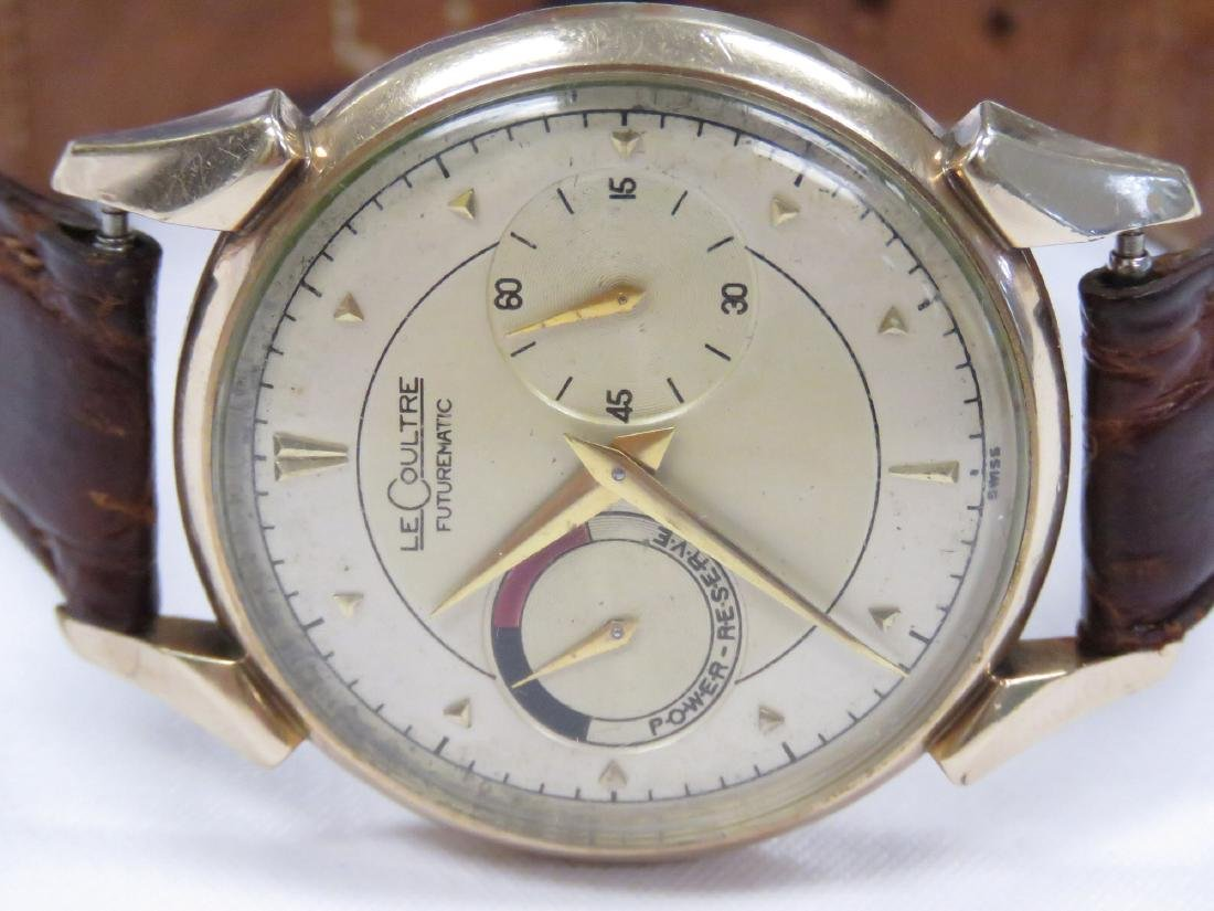 VINTAGE LE COULTRE 10K GOLD FILLED 17-JEWEL AUTOMATIC - 2