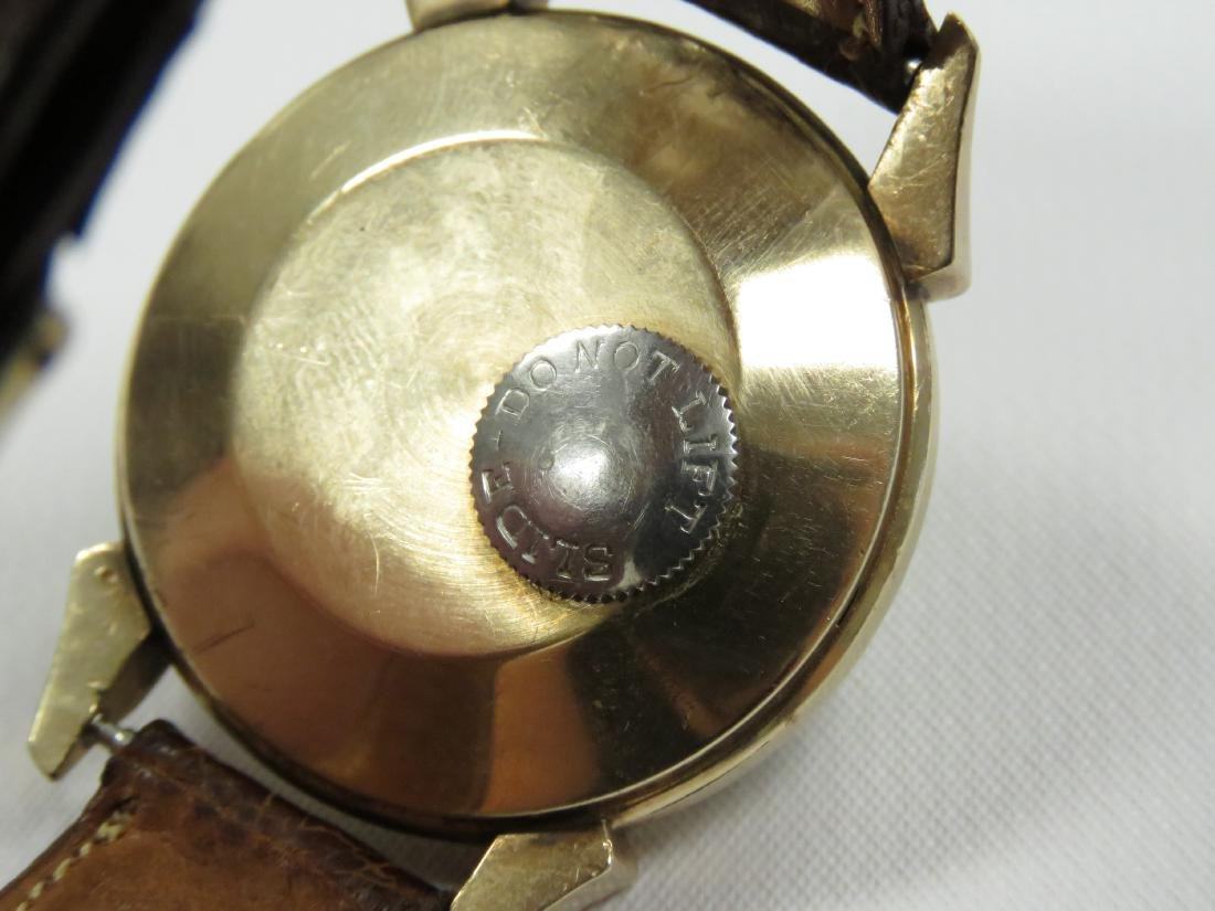 VINTAGE LE COULTRE 10K GOLD FILLED 17-JEWEL AUTOMATIC - 3