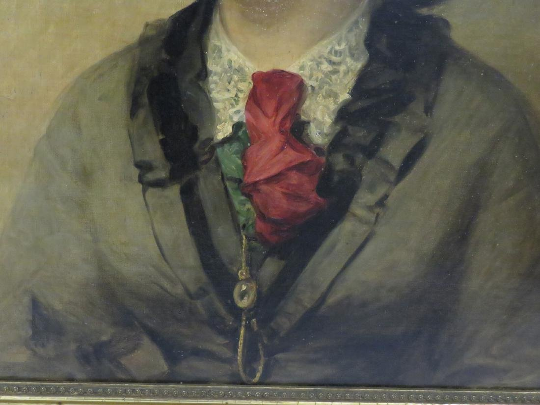 AMERICAN SCHOOL (19/20TH CENTURY), OIL ON CANVAS, YOUNG - 3