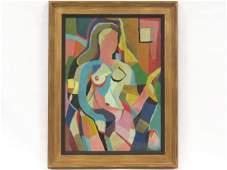 MORRIS BLACKBURN (AMERICAN 1902-1979), OIL ON CANVAS,