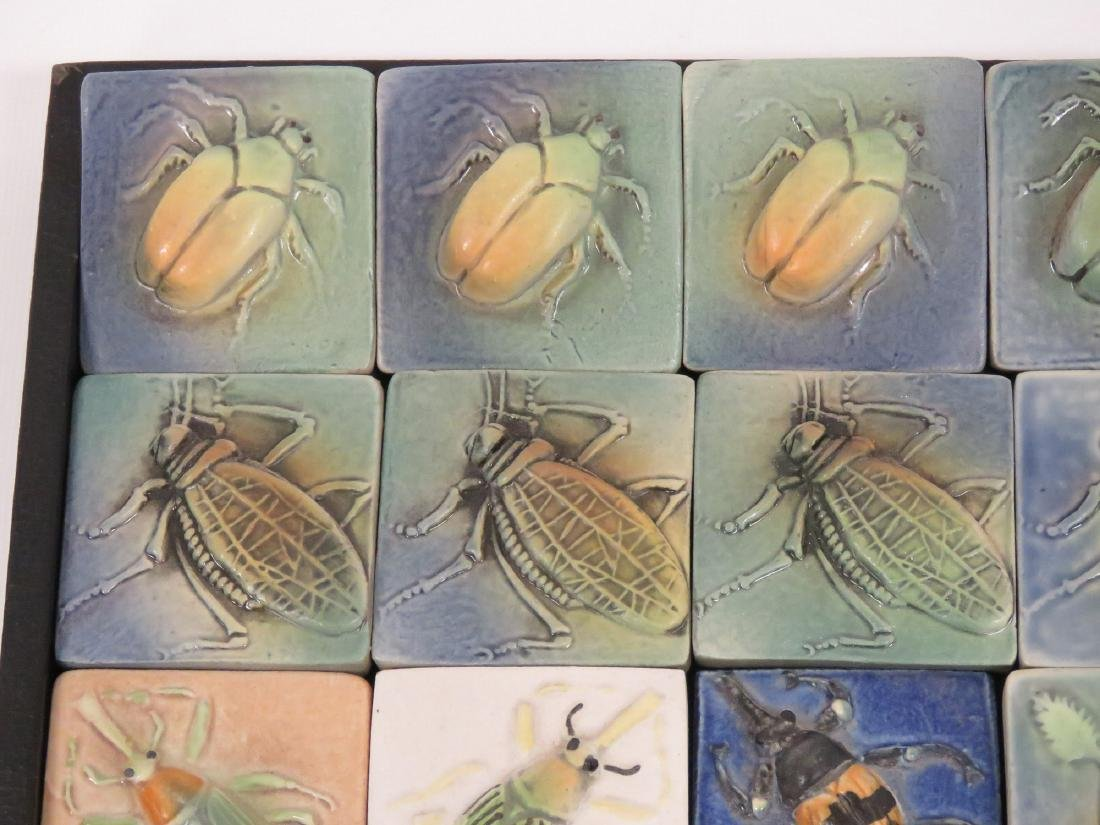 LOT (19) SURVING STUDIOS HIGH RELIEF CERAMIC INSECT - 2