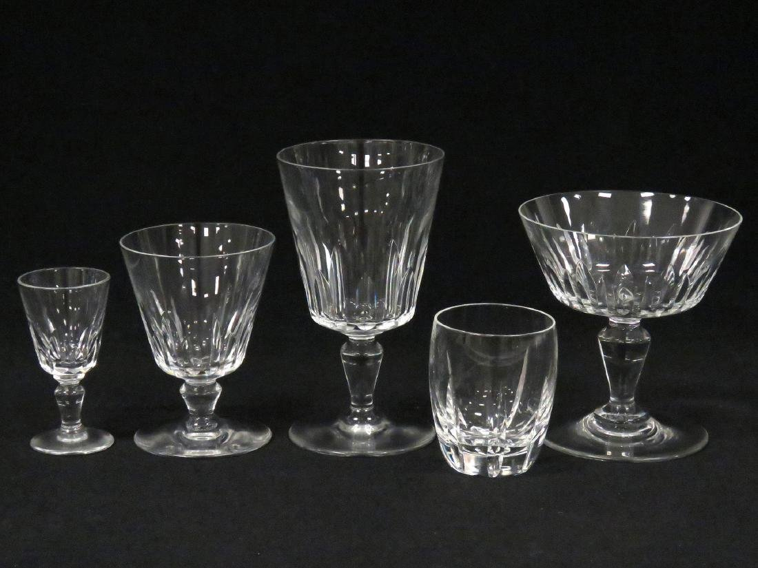 LOT (38) BACCARAT CRYSTAL STEMWARE INCLUDING (7) WINES,