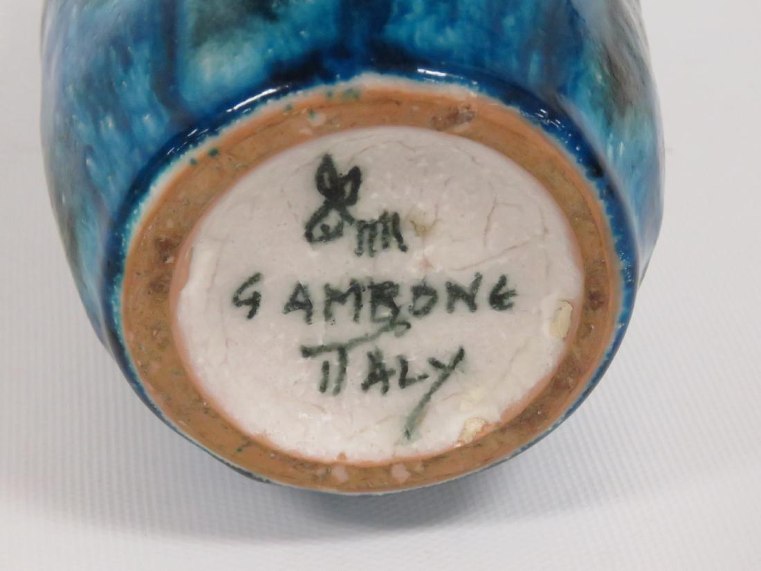 GUIDO GAMBONE (ITALIAN 1909-1969), GLAZED ART POTTERY - 4