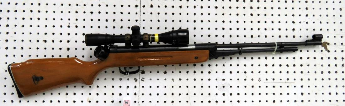 AVID OUTDOOR PELLET RIFLE WITH BSA SCOPE AND BOX