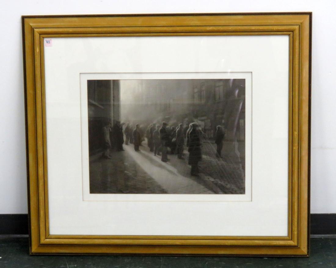 AFTER LEONARD MISONNE (BELGAIN 1870-1943), OFFSET