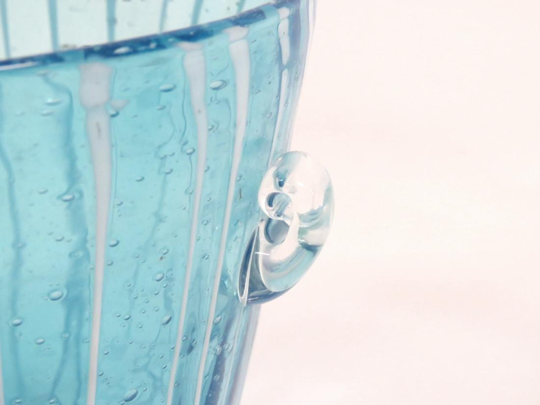 LOT (2) VENETIAN ART GLASS ICE BUCKETS - 2