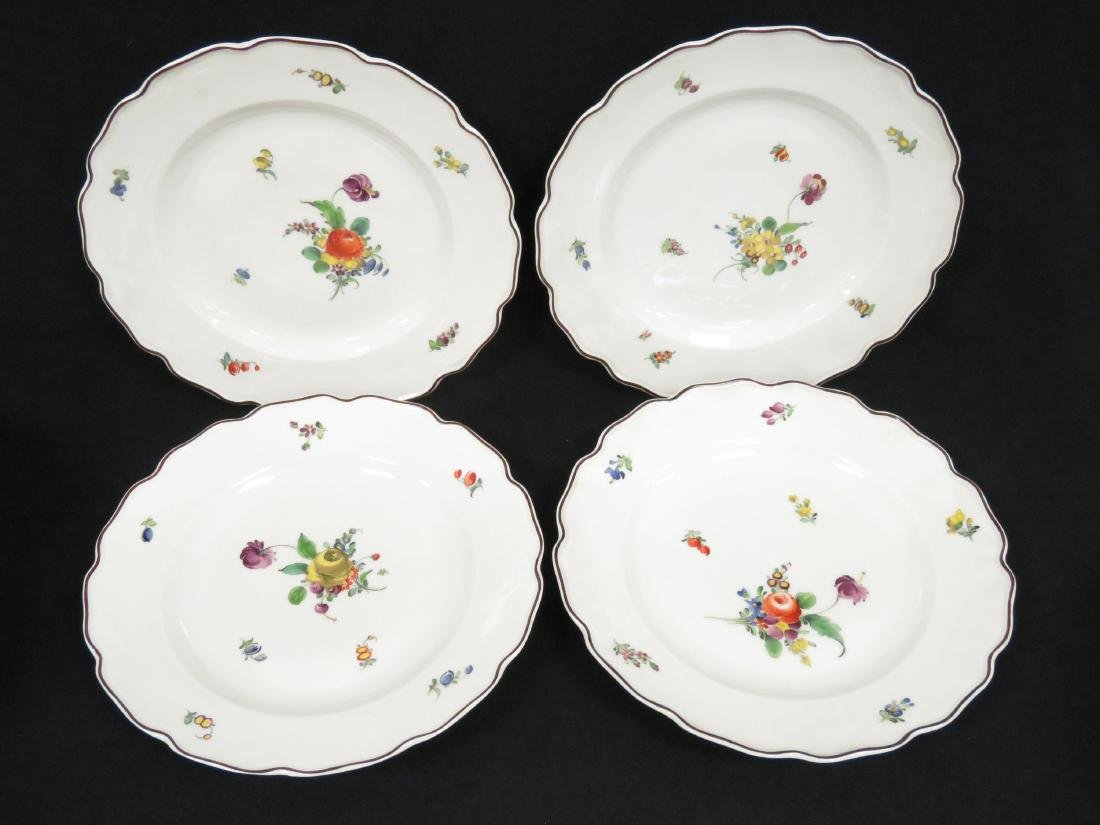 LOT (27) NYMPHENBURG HAND DECORATED PORCELAIN INCLUDING - 4
