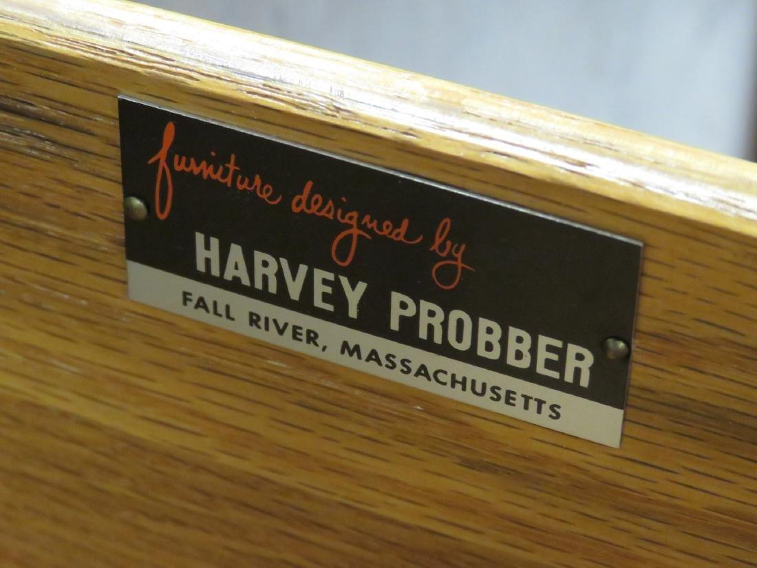 """HARVEY PROBBER MAHOGANY CREDENZA. HEIGHT 44""""; LENGTH 56 - 3"""