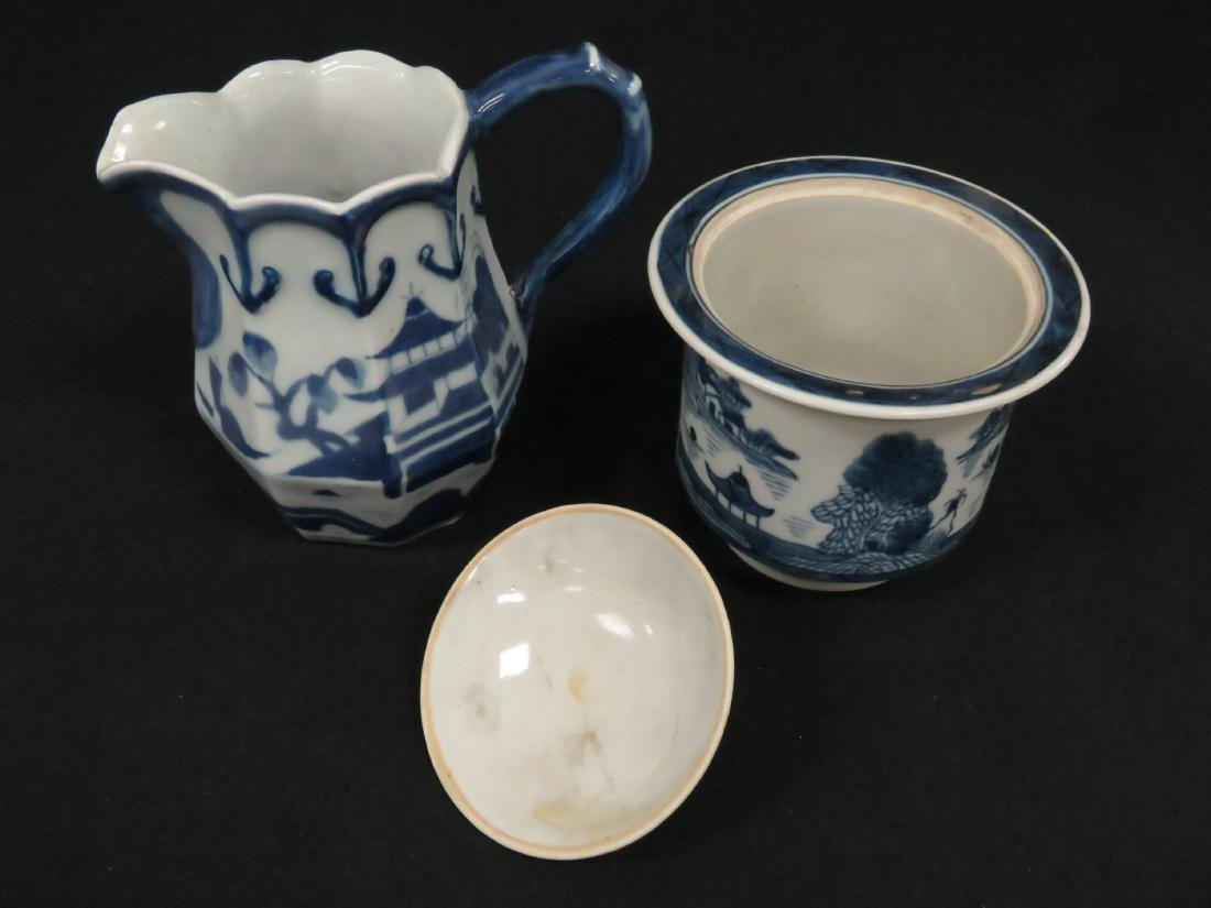 LOT (2) CHINESE CANTON EXPORT PORCELAIN INCLUDING - 2