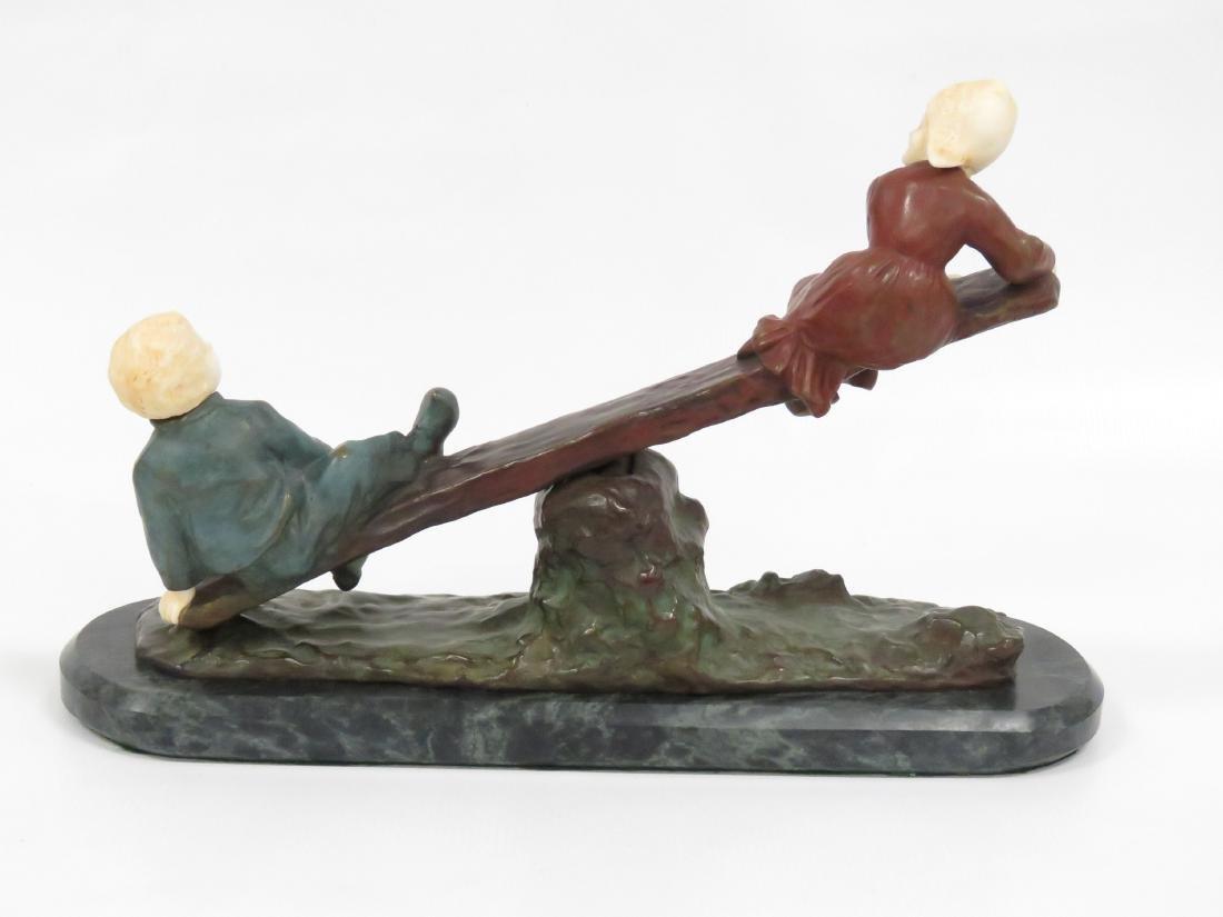 AFTER JOSEPH D'ASTE (ITALIAN 1881-1945), BRONZE, SEE - 4