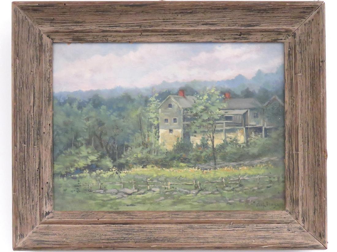 CHARLES HAROLD DAVIS (AMERICAN 1856-1933), OIL ON