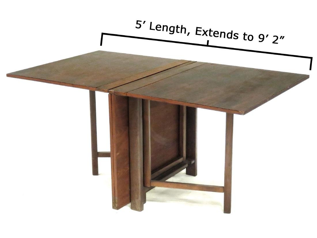 "BRUNO MATHSSON ""MARIA"" DINING TABLE. HEIGHT 29 1/2"";"