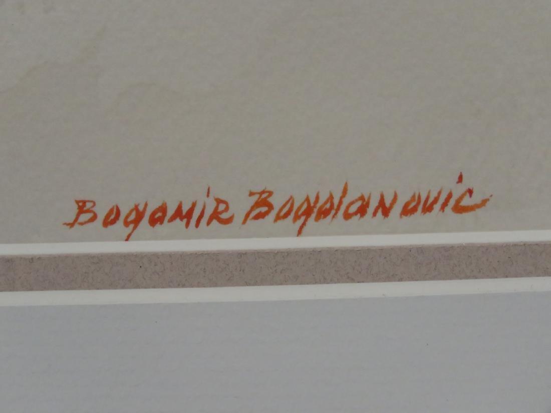 BOGOMIR BOGDANOVIC (AMERICAN 1923-2011), WATERCOLOR, - 3