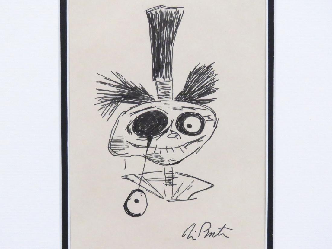 TIM BURTON (AMERICAN 1958-), INK ON PAPER, JACK